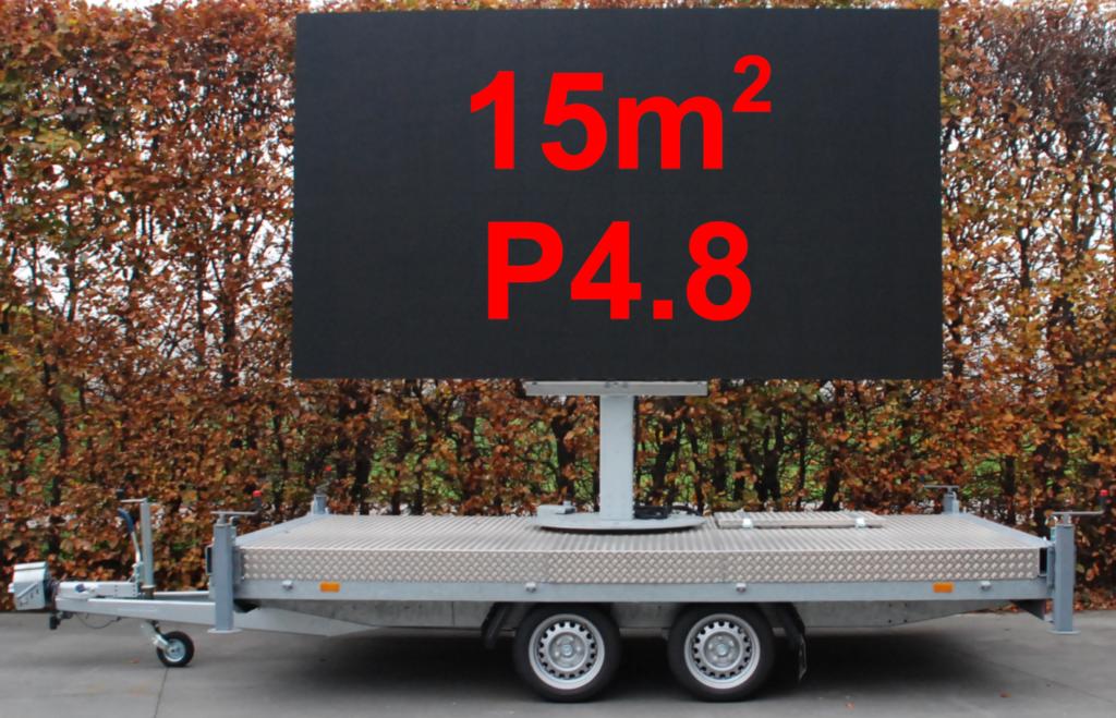 Ledscherm huren, modulair of op trailer, zowel voor binnen (indoor) als voor buiten (outdoor), voor ieders budget.